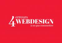 Webdesign : les 4 erreurs à ne pas commettre !