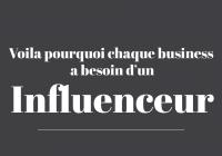 Pourquoi choisir un influenceur pour mon business