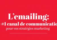 l'emailing est le meilleure outil de communication en 2019