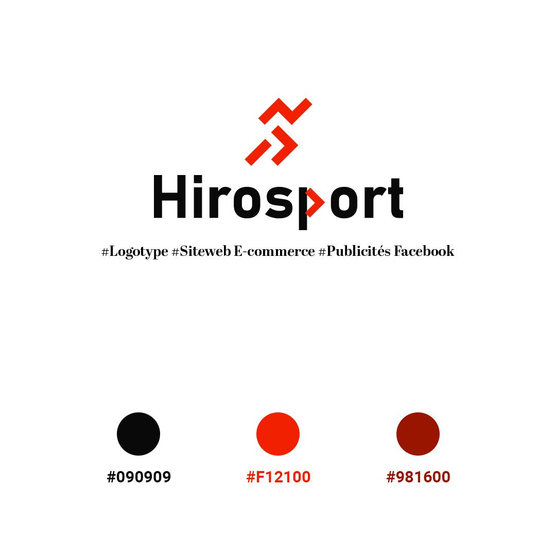 HiroSport siteweb - Projet creation d'un site web ecommerce