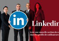 Linkedin test une nouvelle section de service dans les profils des utilisateurs 1