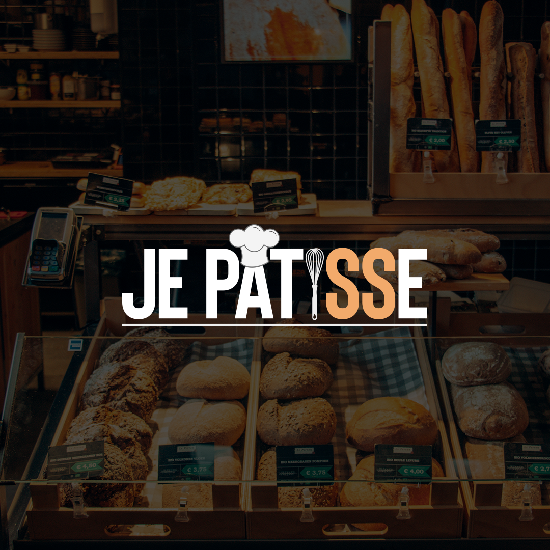 Je pâtisse – Logotype – France