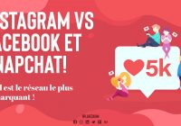 Instagram et facebook - Réseaux Sociaux marketing