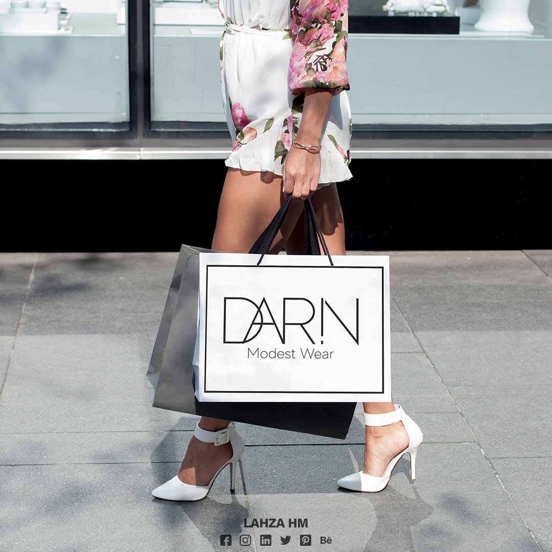 Darin Modest Wear - Site web - France