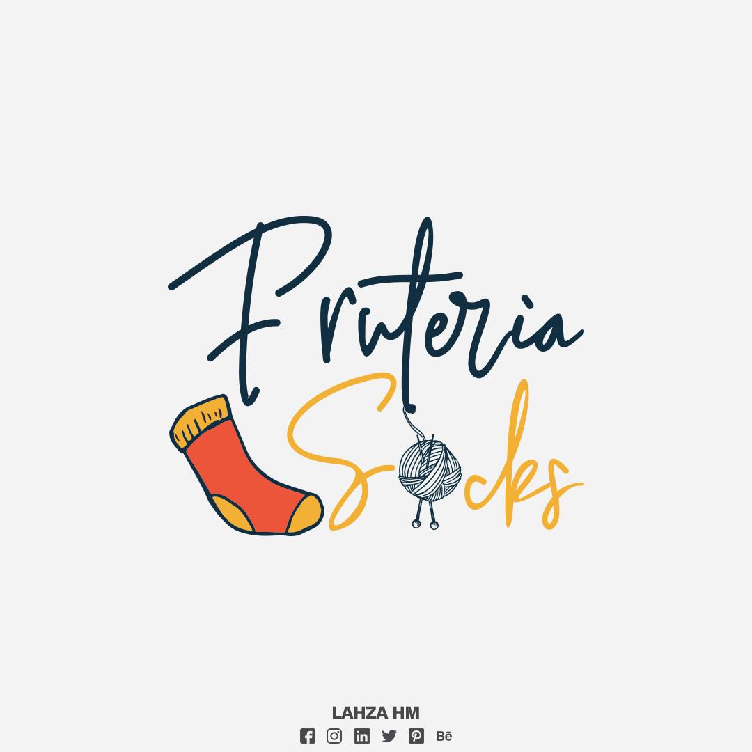 Fruteria Socks Brand- Conception Logo - France