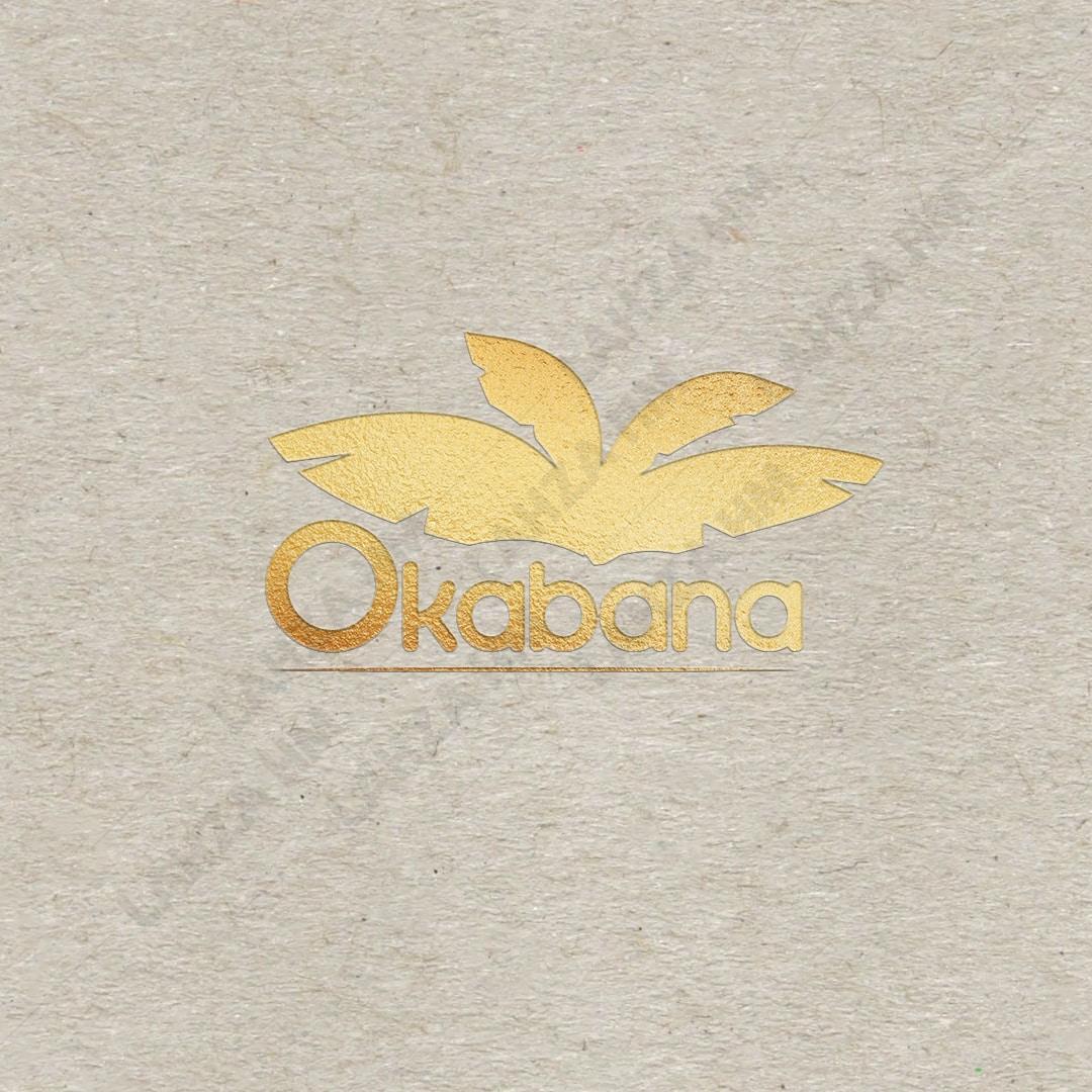 Okabana logo-design-lahzahm
