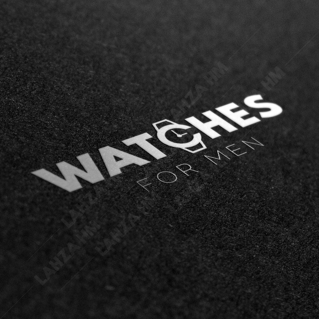 Logo watches-projet lahza hm