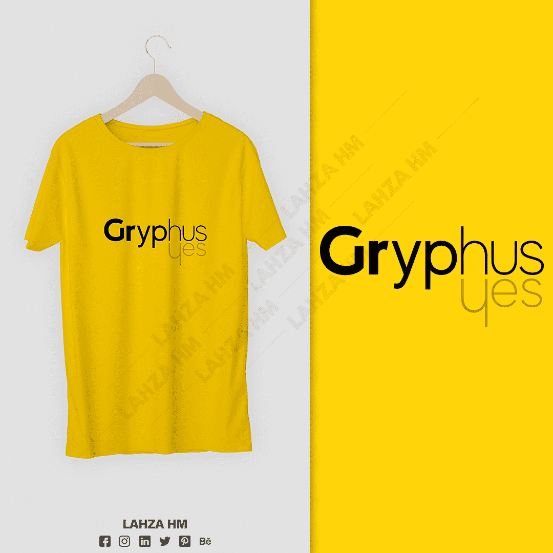 GRYPHUS Tshirt: conception graphique